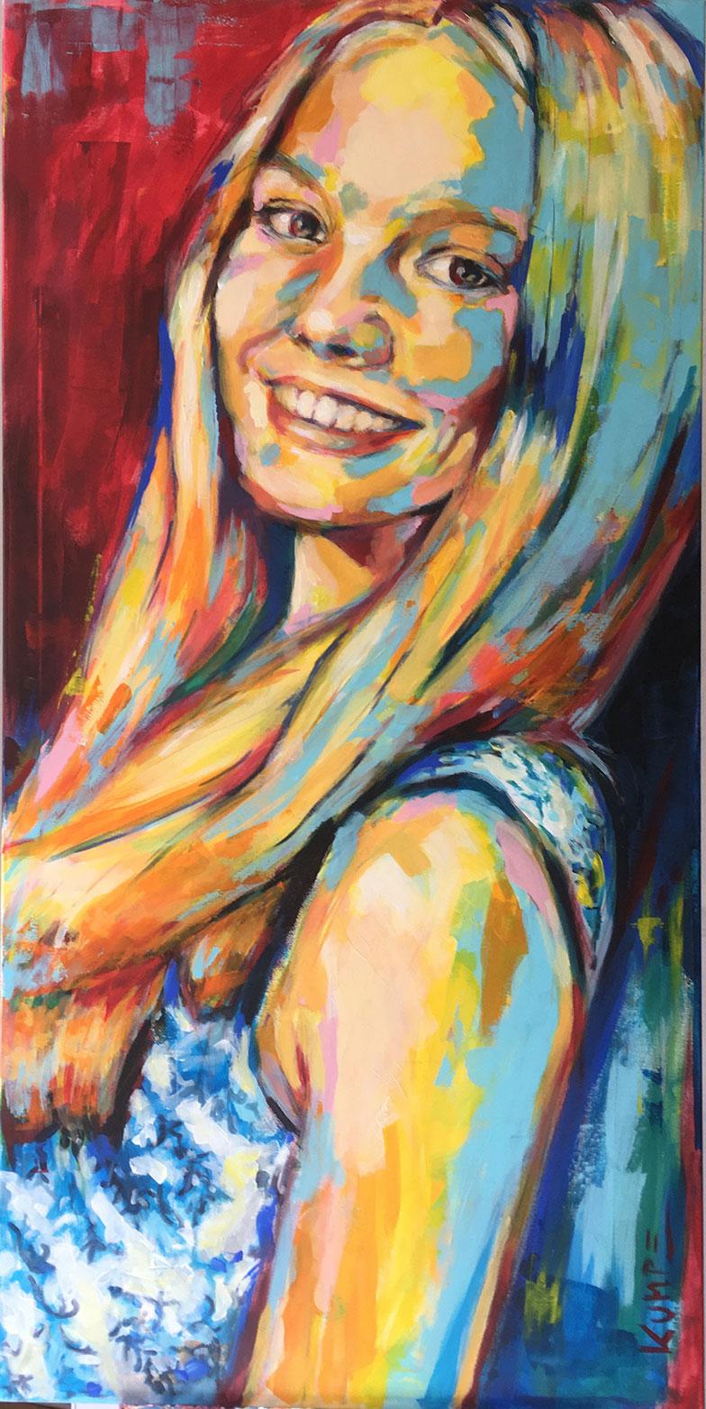 Alexa Acryl 140 x 70 cm