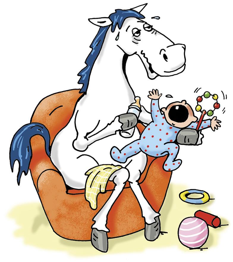 Oefi mit Baby Sympathiefigur Oeffentliche Versicherung Braunschweig