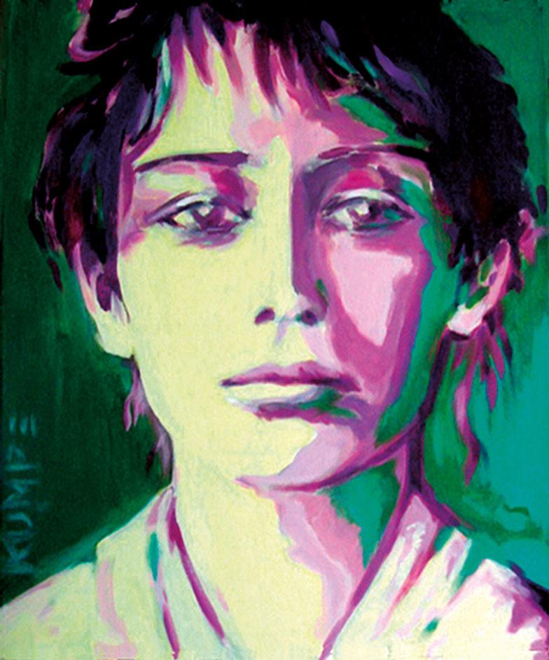 Camille Claudel Acryl 60 x 50 cm