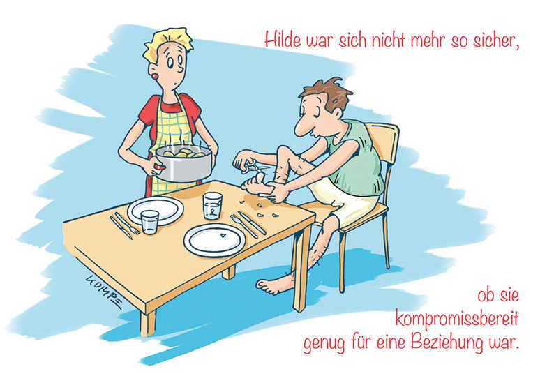 Hilde Hygiene Cartoon