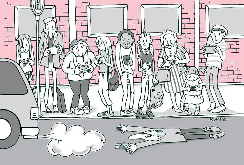 Was und verbindet Cartoon