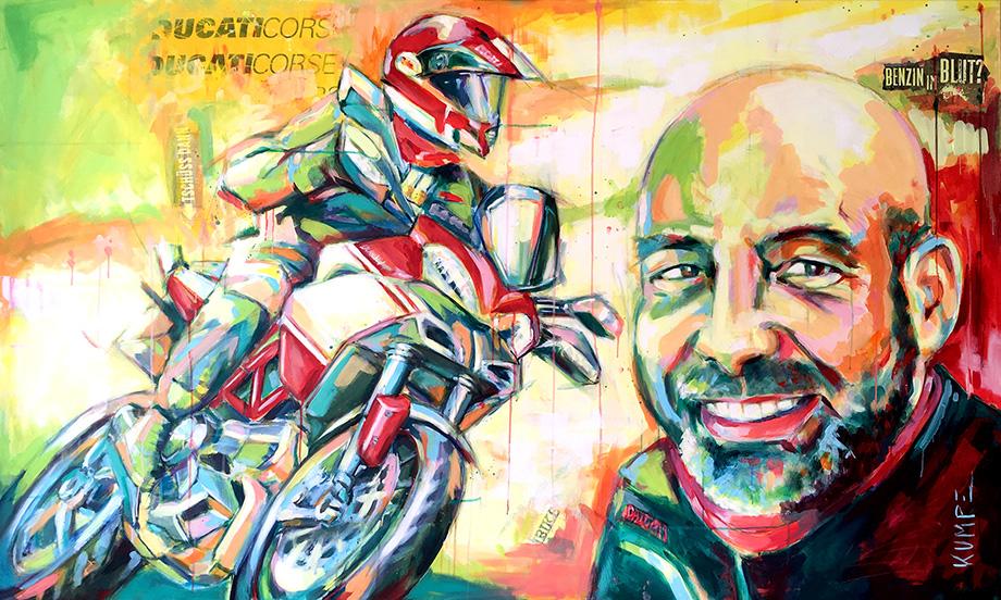 Ducati Micha Acryl 120 x 200 cm