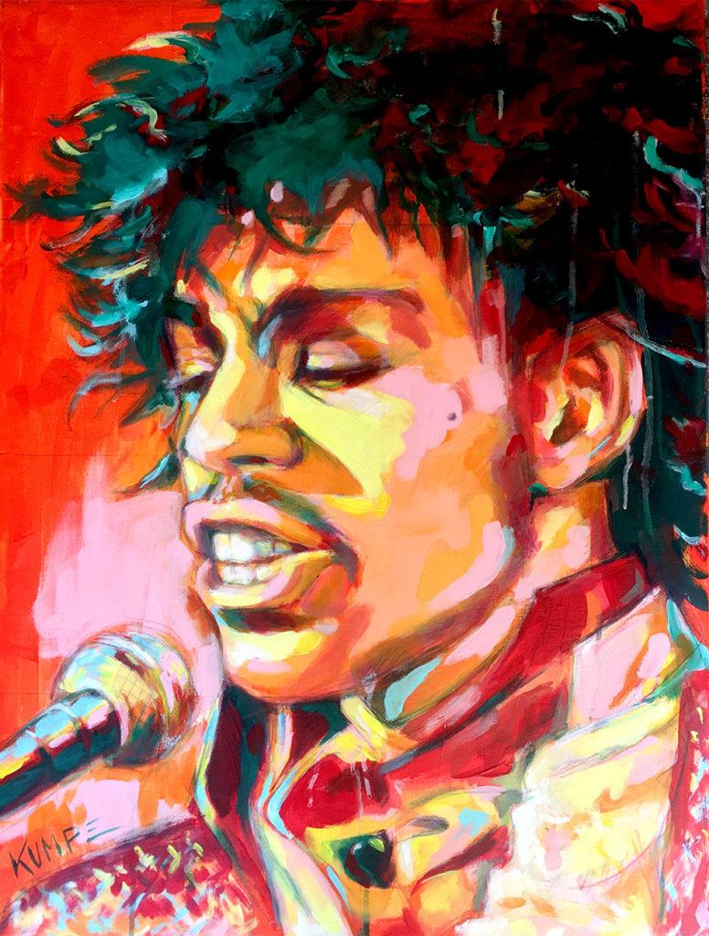 Prince Acryl 80 x 60 cm