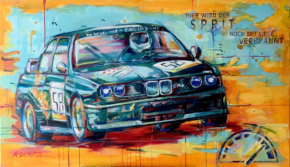 BMW_M3 1 Acryl 70 x 120 cm