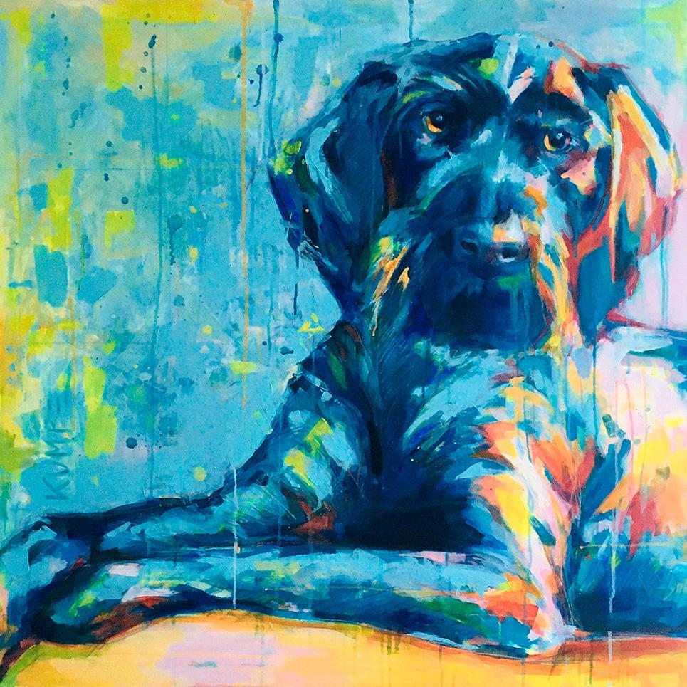 Bonny Acryl 110 x110 cm
