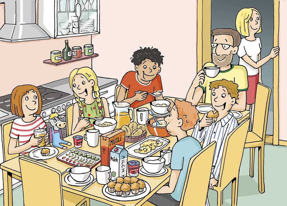 Mini-Milchbuch Freundefrühstück